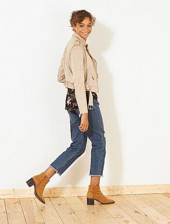 Donna dalla 38 alla 52 - Jeans Mom eco-design - Kiabi