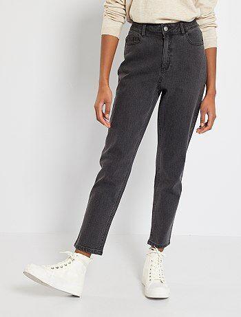 Jeans mom vita molto alta - Kiabi