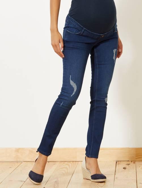 Jeans premaman slim fit                                         BLU Premaman