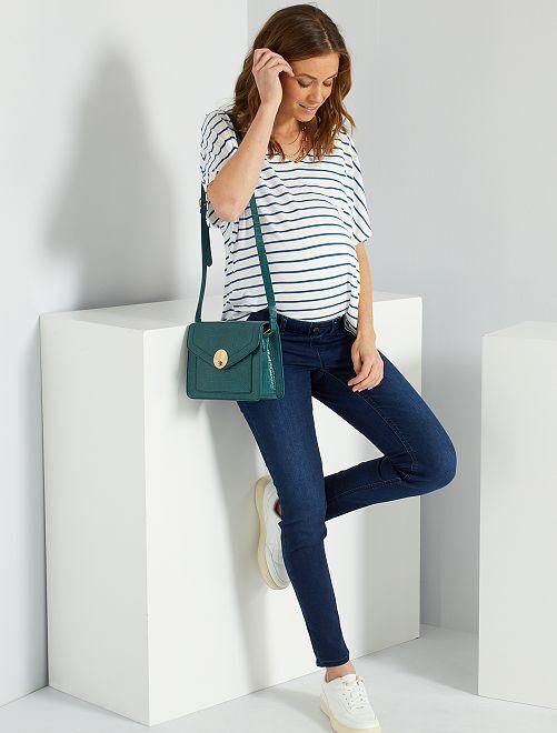 Jeans premaman super skinny                                         BLU