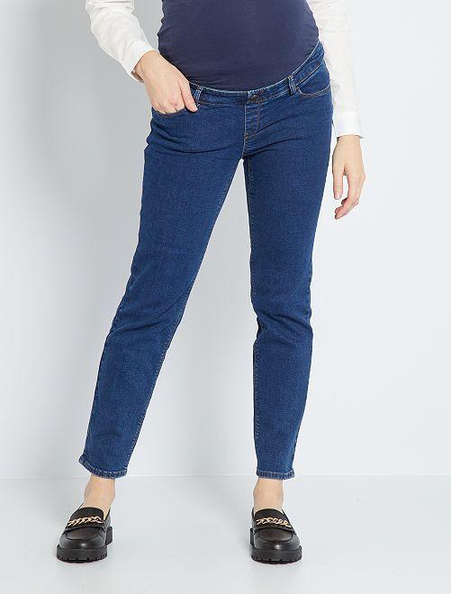 Jeans premaman taglio dritto L30                                                                 BLU