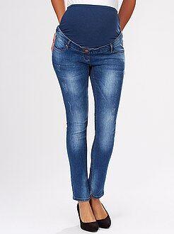 Jeans premaman taglio slim