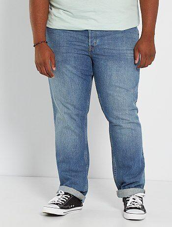 555ed26afb Saldi jeans regular, 5 tasche, comfort, con abrasioni Uomo   Kiabi