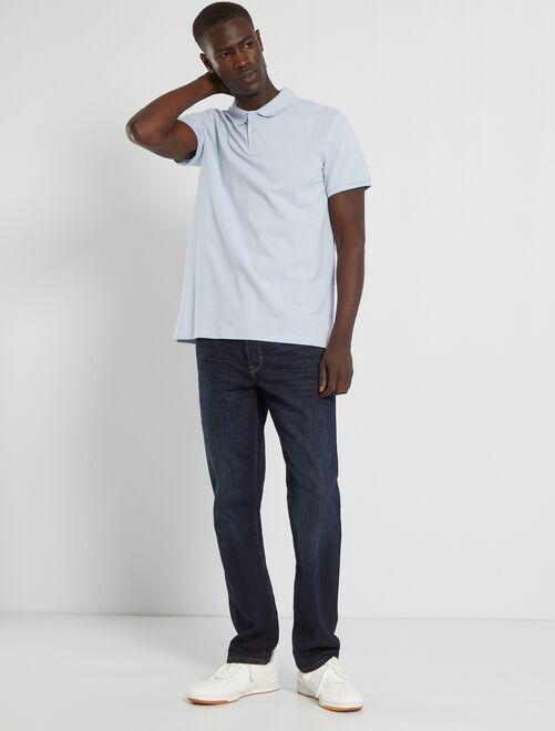 Jeans regular 5 tasche lunghezza US 32                                                                 blu indaco Uomo