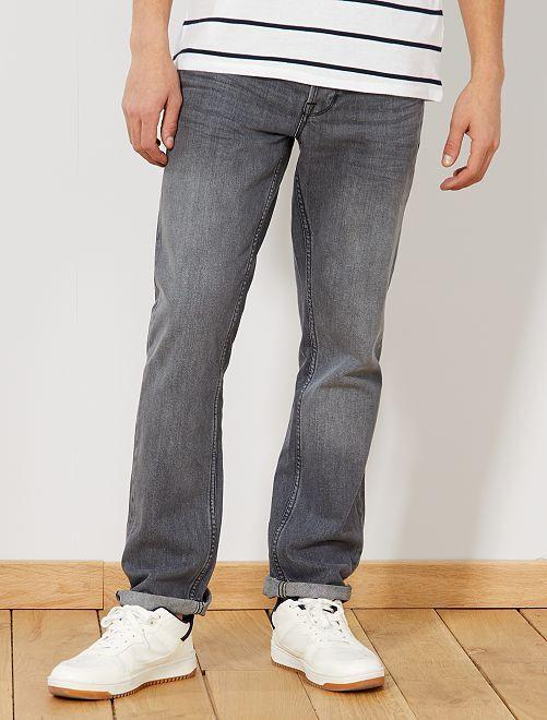 Jeans regular 5 tasche lunghezza US 32                                                                 GRIGIO Uomo