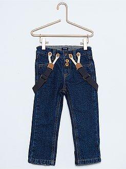 Bambino 1-5 anni Jeans regular bretelle