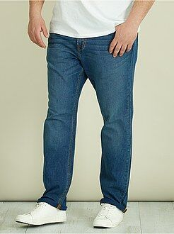 Jeans - Jeans regular denim piqué - Kiabi