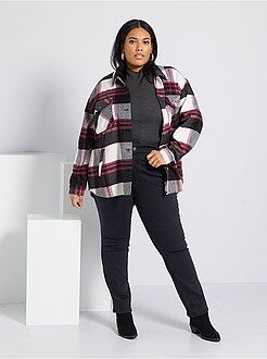 Jeans nero - Jeans regular denim stretch lunghezza 75 cm - Kiabi
