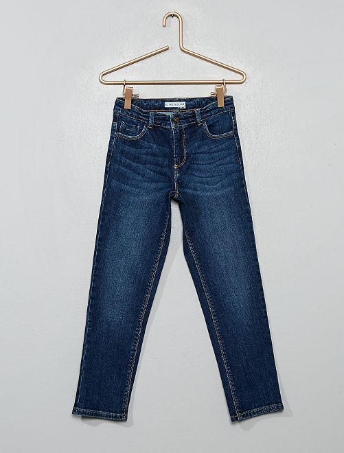 Jeans regular eco-sostenibili                                         BLU