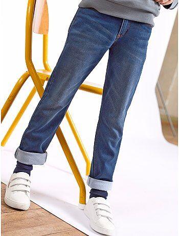 Jeans regular effetto delavé - Kiabi