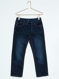 Size + - Jeans regular elastico in vita taglie forti