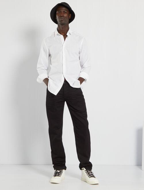 Jeans regular-fit eco-sostenibile L32                                                                             black