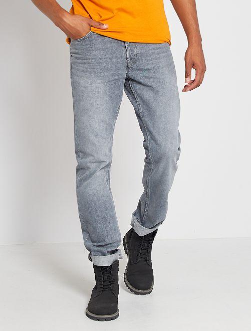 Jeans regular-fit eco-sostenibile L32                                                                             GRIGIO