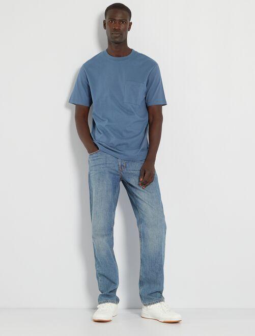 Jeans regular-fit eco-sostenibile L32                                                                             stone