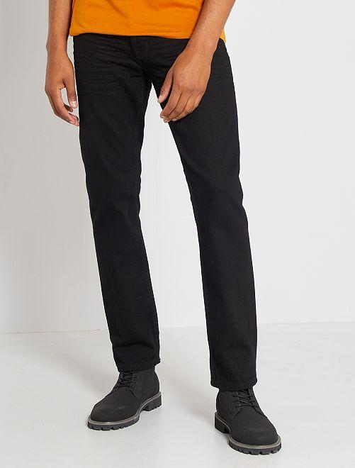 Jeans regular fit eco-sostenibili L30                                                                 nero/nero