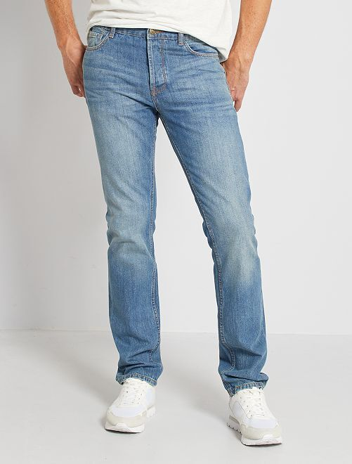 Jeans regular fit eco-sostenibili L34                                                                             stone