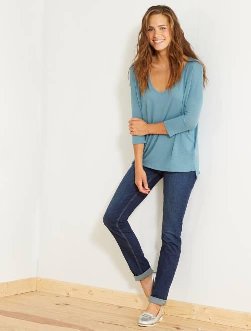 Jeans regular fit lunghezza US 34                                                     BLU Donna