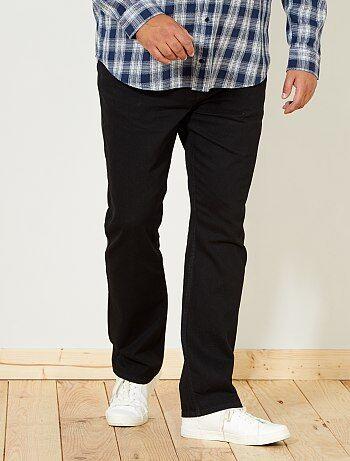 Taglie forti Uomo - Jeans regular grezzi - Kiabi