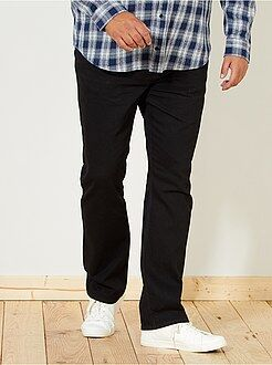 Taglie forti Uomo Jeans regular grezzi