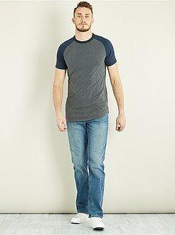 Uomini alti più di 190cm - Jeans regular puro cotone L36 + 1 m 90 - Kiabi