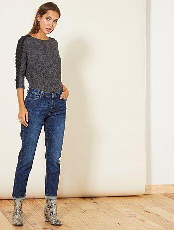 Jeans regular vita alta - Kiabi