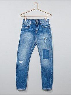 Jeans - Jeans relaxed destroy - Kiabi
