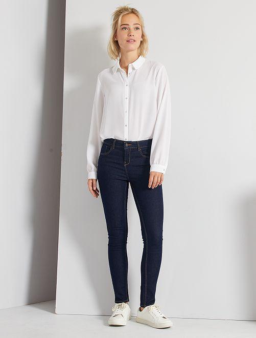 Jeans skinny                                                                                         brut
