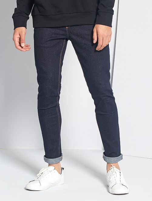 Jeans skinny cotone stretch                                                                 BLU