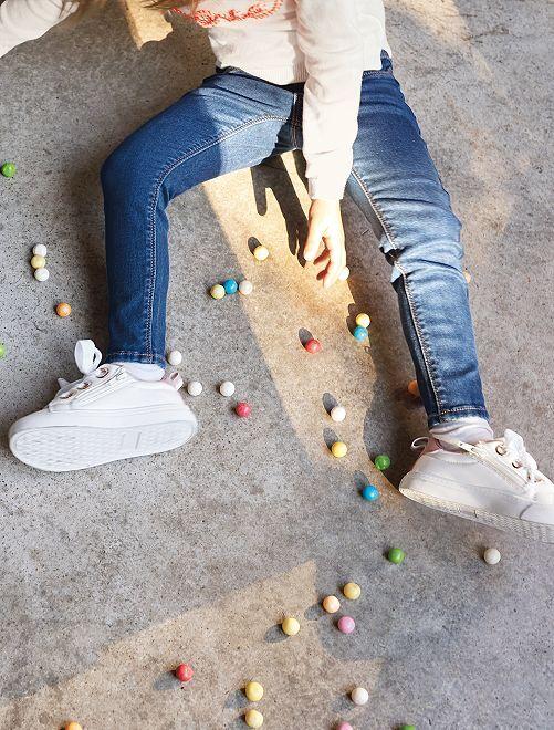 Jeans skinny denim                                                                 denim stone Infanzia bambina