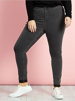 Jeans - Jeans skinny denim stretch vita alta