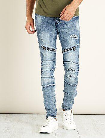 Jeans skinny destroy - Kiabi