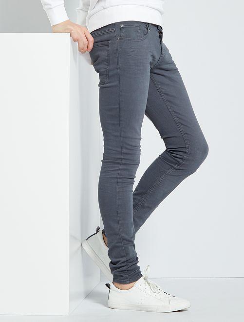 Jeans skinny 'eco-friendly'                                                     GRIGIO