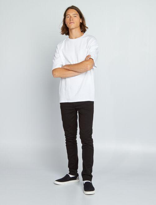 Jeans skinny 'eco-friendly'                     nero