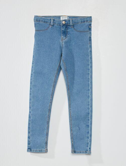 Jeans skinny 'eco-sostenibile'                                                                 BLU