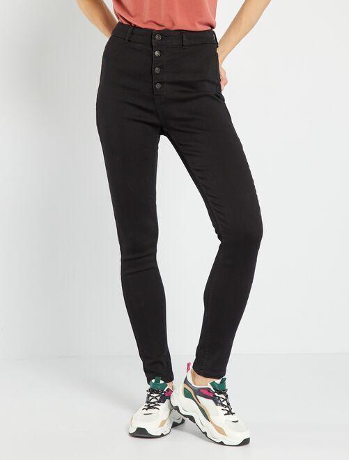 Jeans skinny eco-sostenibile                                                                             NERO
