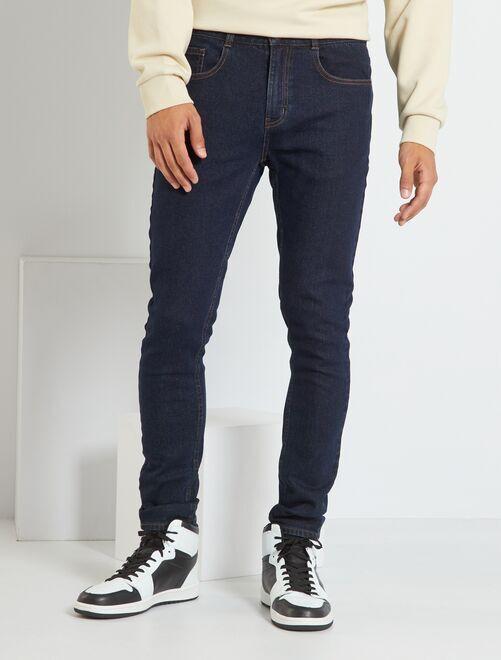Jeans skinny eco-sostenibili                             BLU