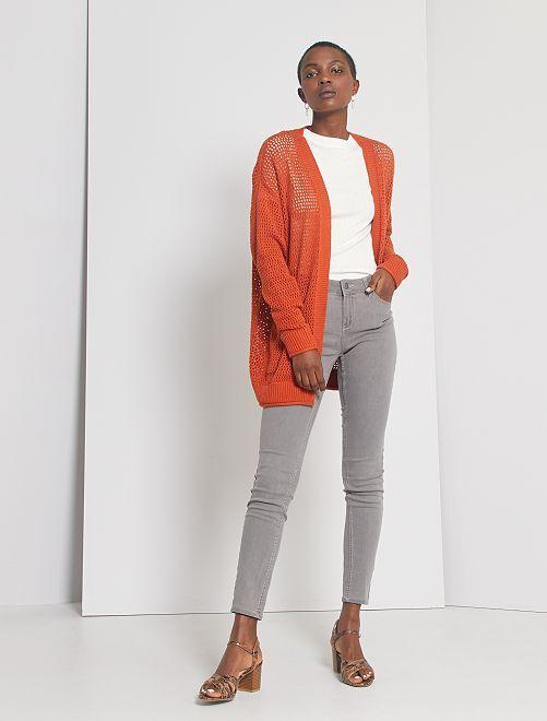 Jeans skinny eco-sostenibili                                                                                         grigio chiaro