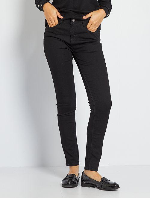 Jeans skinny eco-sostenibili                                                                                                     nero