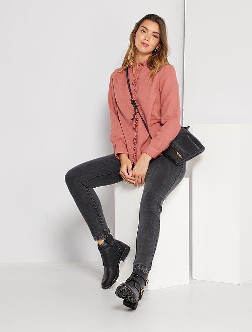 Jeans skinny 'eco-sostenibili'                             NERO