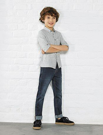 Jeans skinny effetto delavé - Kiabi