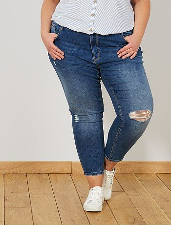 Jeans skinny effetto destroy - Kiabi