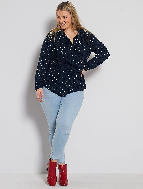 Jeans skinny effetto push up                                                                                                     BLU Taglie forti donna