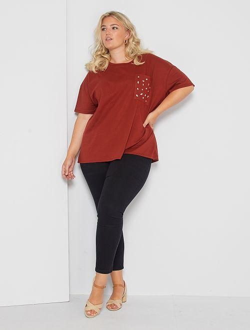 Jeans skinny effetto push up                                                                     denim black Taglie forti donna