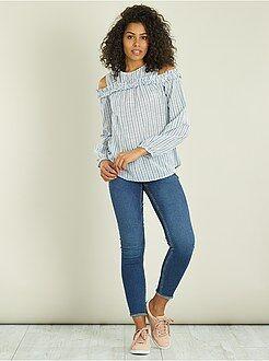 Donna dalla 38 alla 52 - Jeans skinny fit Eco-Design - Kiabi