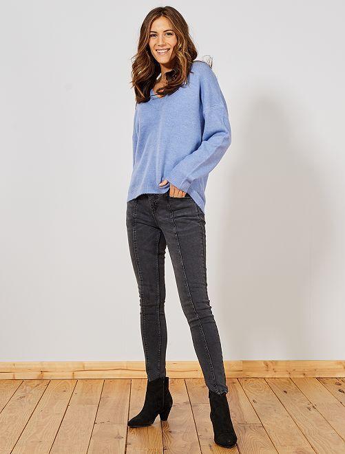 Jeans skinny fit                                         NERO