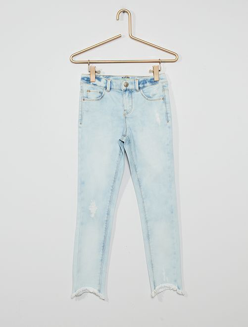 Jeans skinny in cotone stretch ecosostenibile                                                                 BLU