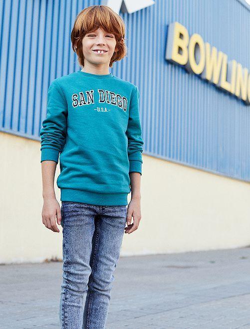 Jeans skinny neve                             BLU