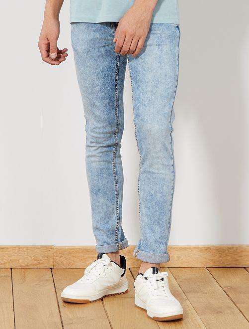 Jeans skinny neve                             BLU Uomo