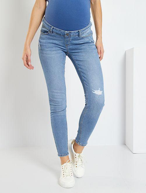 Jeans skinny premaman                             doble stone