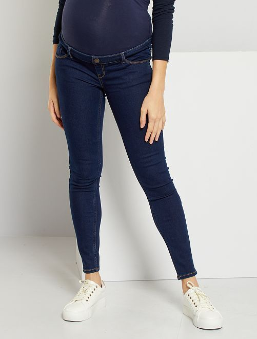 Jeans skinny premaman L30                                                                 BLU